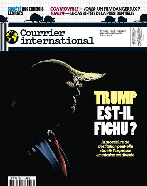 Courrier International N°1510 Du 10 au 16 Octobre 2019