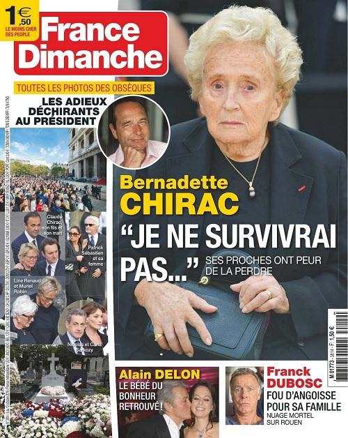 France Dimanche N°3814 Du 4 Octobre 2019