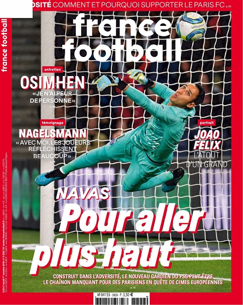France Football N°3828 Du 1er Octobre 2019