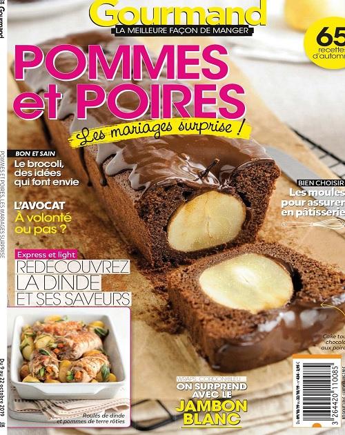 Gourmand N°434 Du 9 Octobre 2019