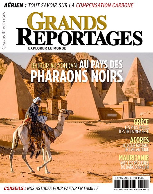 Grands Reportages N°468 – Novembre 2019