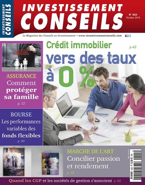 Investissement Conseils N°825 – Octobre 2019