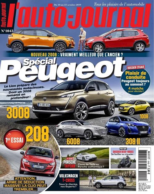 L'Auto-Journal N°1043 Du 10 au 23 Octobre 2019