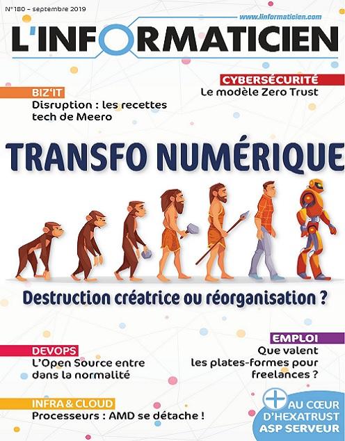 L'Informaticien N°180 – Septembre 2019