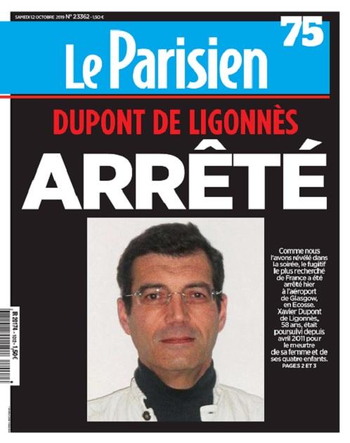 Le Parisien Du Samedi 12 Octobre 2019