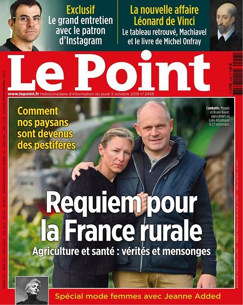 Le Point N°2458 Du 3 Octobre 2019