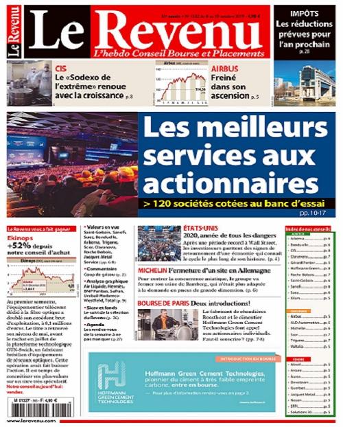 Le Revenu N°1552 Du 4 Octobre 2019