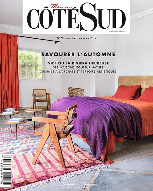 Maisons Côté Sud N°180 – Octobre-Novembre 2019