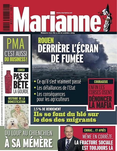 Marianne N°1177 Du 4 au 10 Octobre 2019