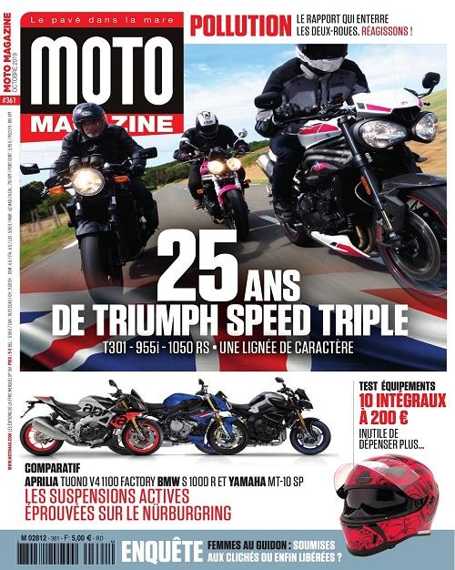 Moto Magazine N°361 – Octobre 2019