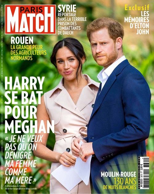 Paris Match N°3675 Du 10 Octobre 2019