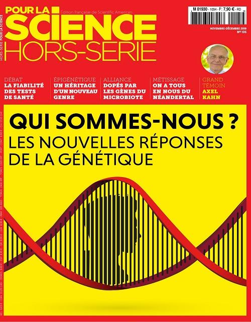 Pour La Science Hors Série N°105 – Novembre-Décembre 2019