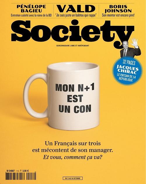 Society N°116 Du 3 au 16 Octobre 2019