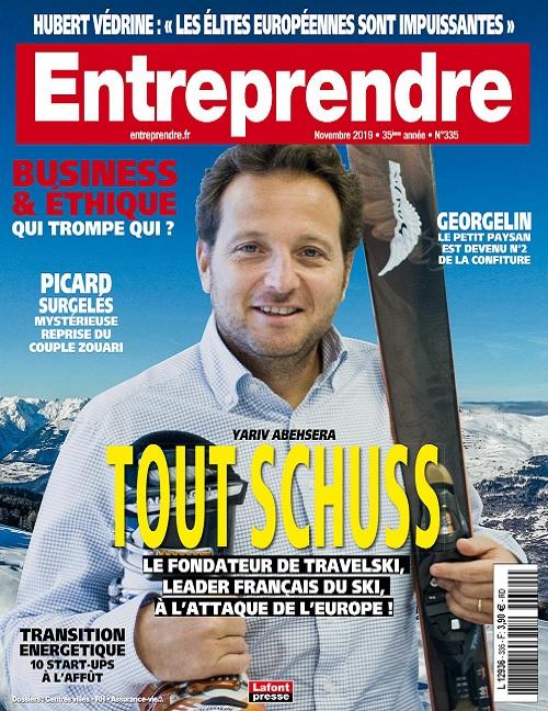 Entreprendre N°335 – Novembre 2019