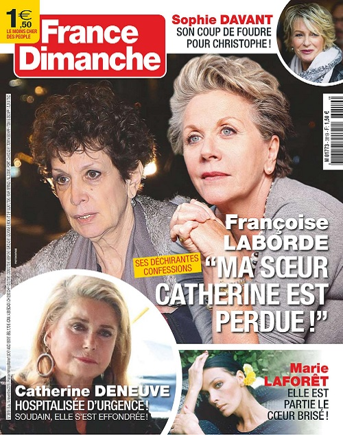 France Dimanche N°3819 Du 8 au 14 Novembre 2019