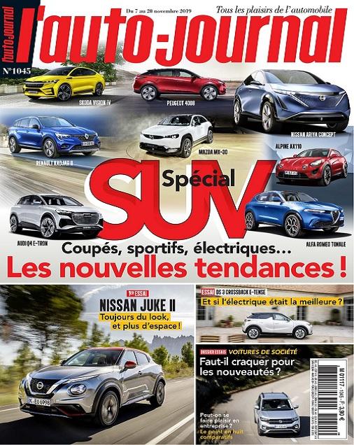 L'Auto-Journal N°1045 Du 7 au 20 Novembre 2019