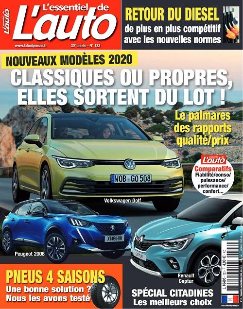 L'Essentiel De L'Auto N°123 – Décembre 2019-Février 2020