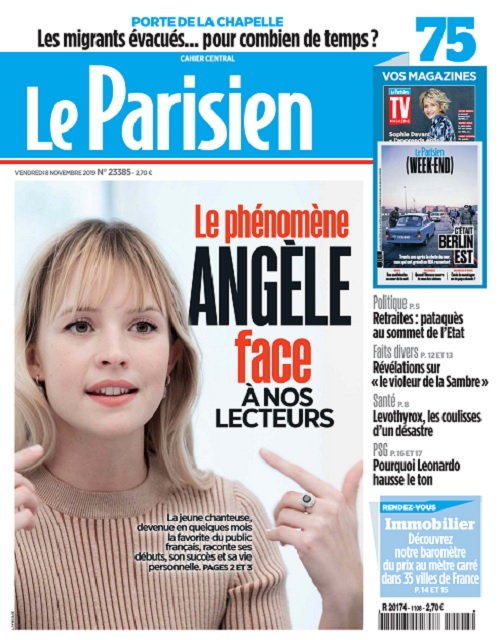 Le Parisien Du Vendredi 8 Novembre 2019