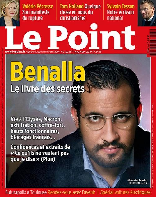 Le Point N°2463 Du 7 au 13 Novembre 2019