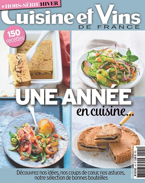 Cuisine et Vins De France Hors Série N°1 – Hiver 2020