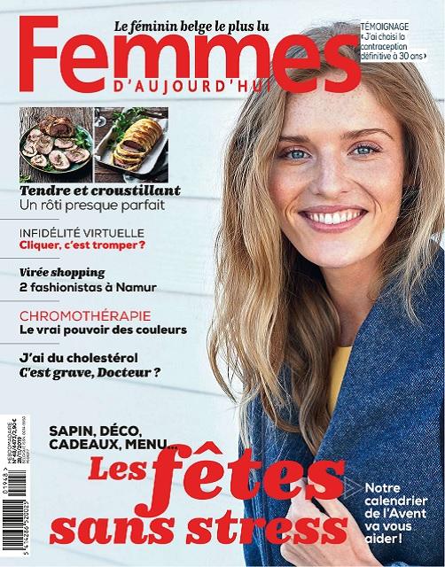 Femmes D'Aujourd'hui N°48 Du 28 Novembre 2019