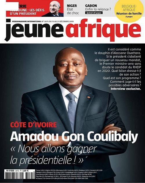 Jeune Afrique N°3075 Du 15 Décembre 2019