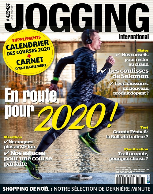 Jogging International N°423-424 – Janvier-Février 2020