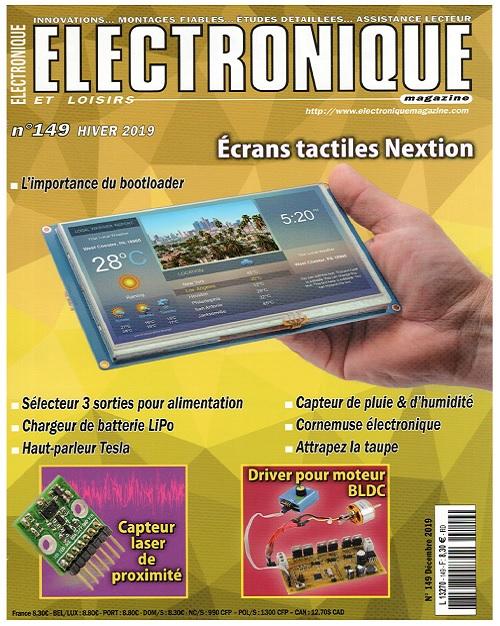 Electronique et Loisirs N°149 – Hiver 2019