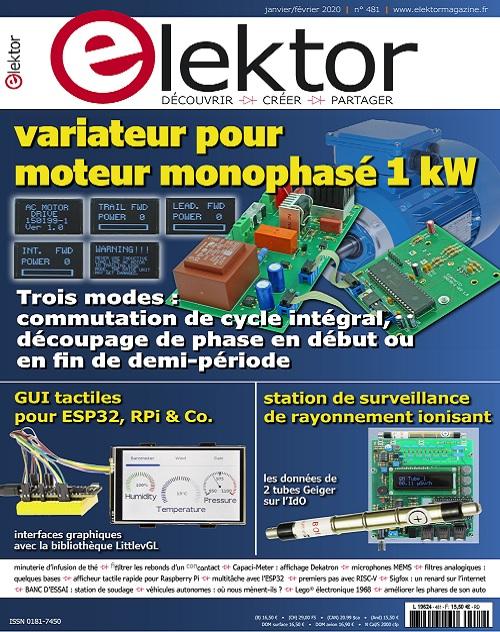 Elektor Magazine N°481 – Janvier-Février 2020