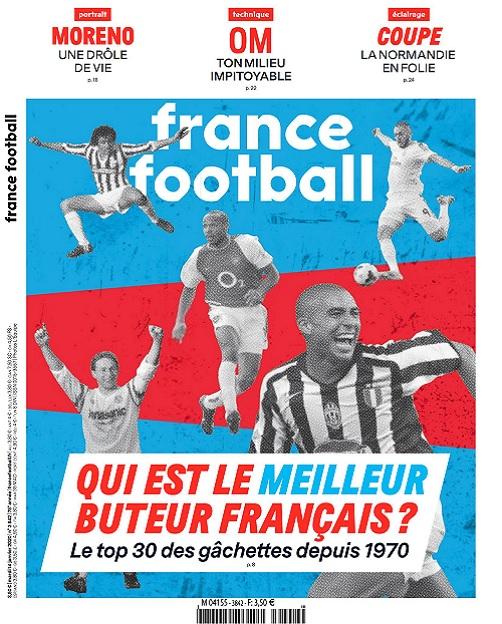 France Football N°3842 Du 14 Janvier 2020