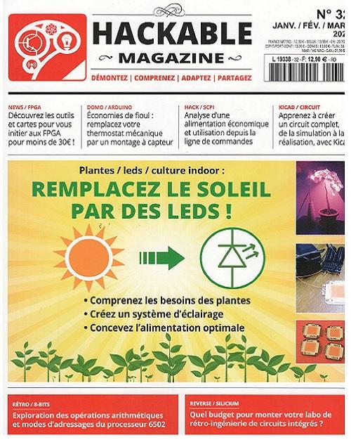 Hackable Magazine N°32 – Janvier-Mars 2020