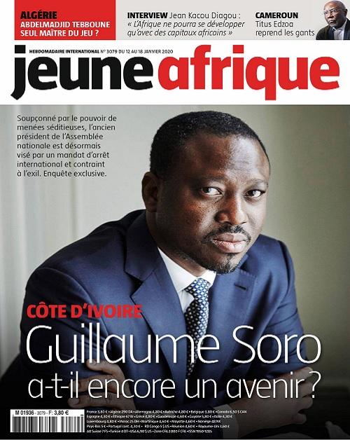 Jeune Afrique N°3079 Du 12 Janvier 2020