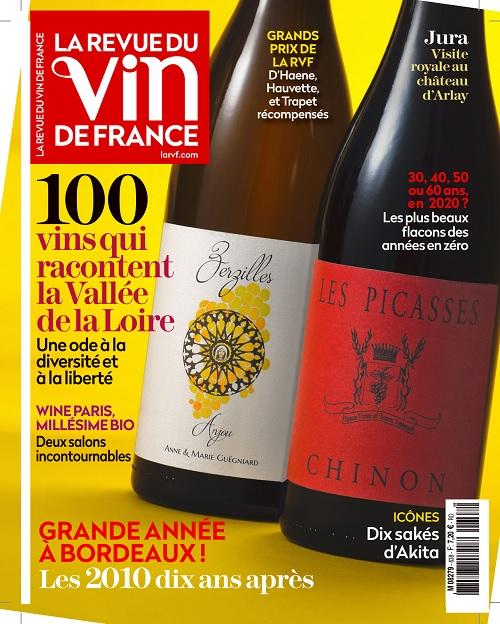 La Revue Du Vin De France N°638 – Février 2020