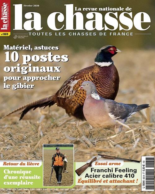La Revue Nationale De La Chasse N°869 – Février 2020