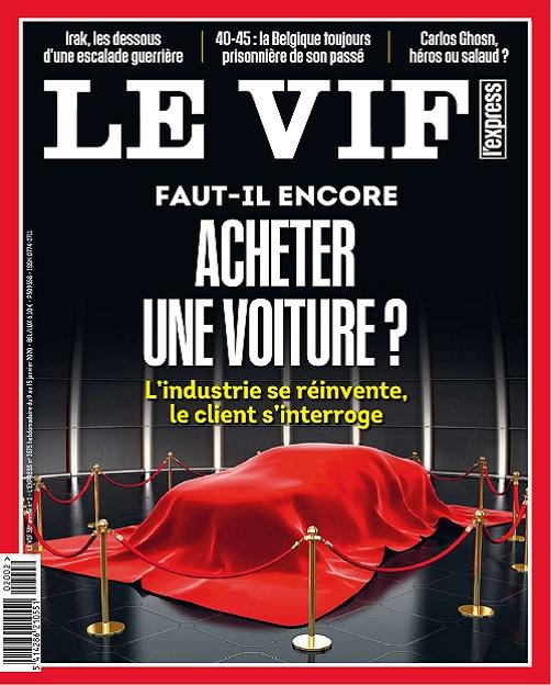 Le Vif L'Express Du 9 au 15 Janvier 2020