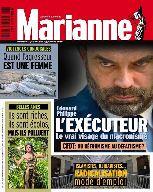 Marianne N°1192 Du 17 Janvier 2020