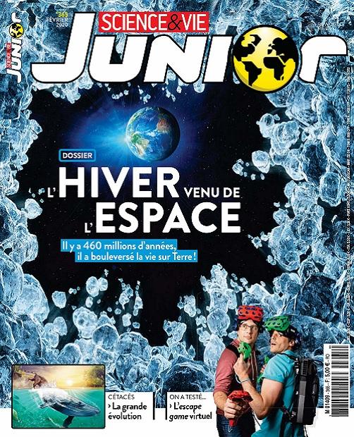 Science et Vie Junior N°365 – Février 2020