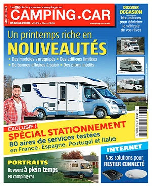 Camping-Car Magazine N°327 – Mars 2020