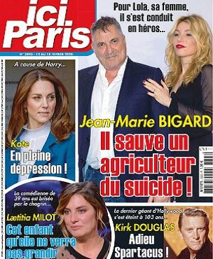 Ici Paris N°3893 Du 12 Février 2020