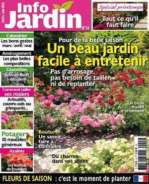 Info Jardin N°14 – Mars-Mai 2020