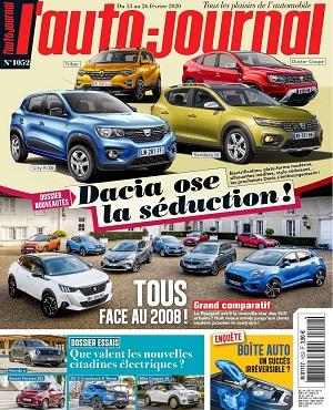 L'Auto-Journal N°1052 Du 13 Février 2020