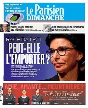 Le Parisien Du Dimanche 9 Février 2020