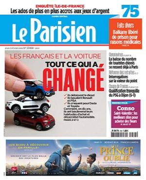 Le Parisien Du Jeudi 13 Février 2020