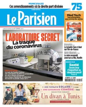 Le Parisien Du Lundi 10 Février 2020