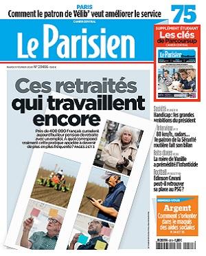 Le Parisien Du Mardi 11 Février 2020