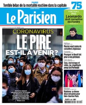 Le Parisien Du Samedi 22 Février 2020