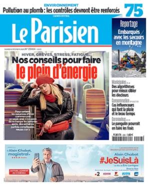 Le Parisien Du Samedi 8 Février 2020