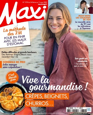 Maxi N°1739 Du 24 Février 2020