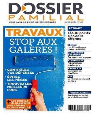 Dossier Familial N°543 – Avril 2020