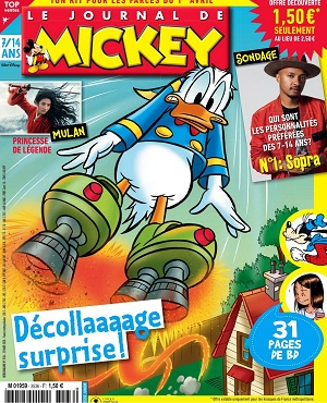 Le Journal De Mickey N°3536 Du 25 Mars 2020